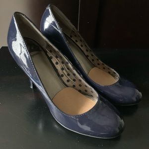 Fergalicious by Fergie Navy Shoe 8.5